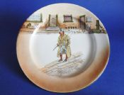 Royal Doulton 'Barkis' Dickens Ware Series 'A' Large Rack Plate D2973 c1910